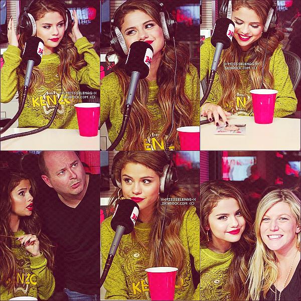 """+ May 23rd  ;   Selena a été vue arrivant aux studios d'NRJ pour """"Bienvenue chez Cauet"""" où elle a rencontré Kev Adams. Notre Gomez adorée a également participé au journal d'M6 ce soir là. +"""