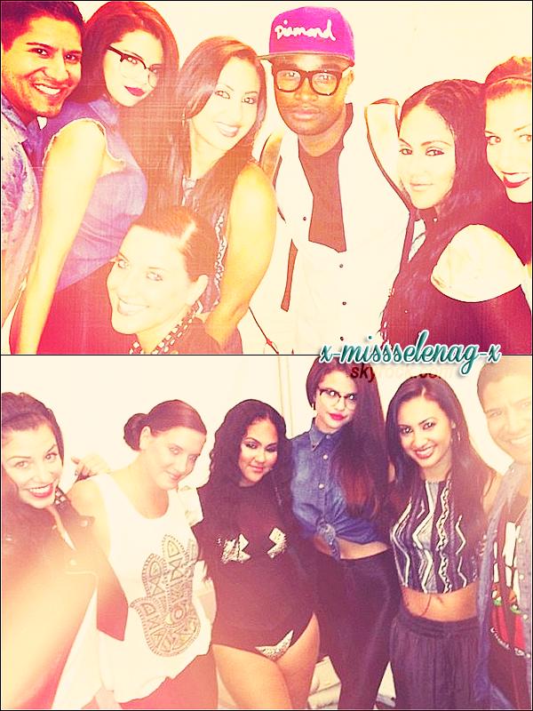 + June 9th  ;   Selena, Francia, Charity, Kat DeLuna et autres à la «LA Pride». +