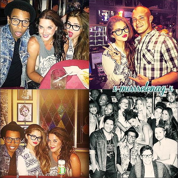 + June 10th  ;   Selena allant déjeuner au restaurant «Kabuki» à Los Angeles. + Une petite avalanche de nouvelles photos personnelles provenant de Twitter & Instagram. +