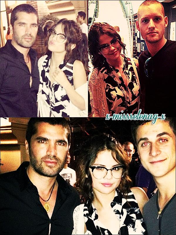 + June 15th  ;   Selena arrivant chez un ami à Los Angeles. Elle s'est rendue à une soirée le soir. +