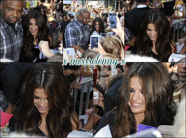 + July 9th  ;   Selena s'est rendue au lancement de sa collection Adidas Neo.  +
