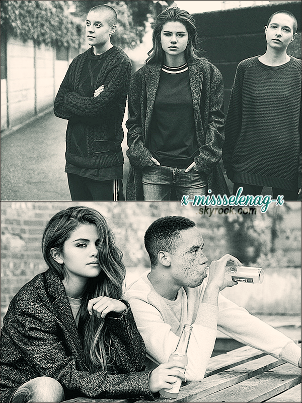 + August 27th  ;   Selena a été vue embarquant à LAX direction la Norvège. + Voici un nouveau photoshoot noir et blanc de Selena pour le magazine «I-D». Je dirais qu'il est spécial. +