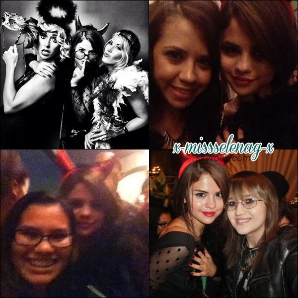 + July 20th  ; Selena a été vue à sa pré-fête d'anniversaire à l'hôtel Roosevelt.