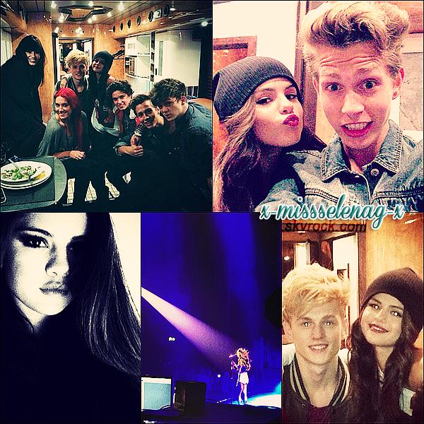 + September 7th  ;   Selena donnant son show du SDT à Londres puis avec ses fans. +
