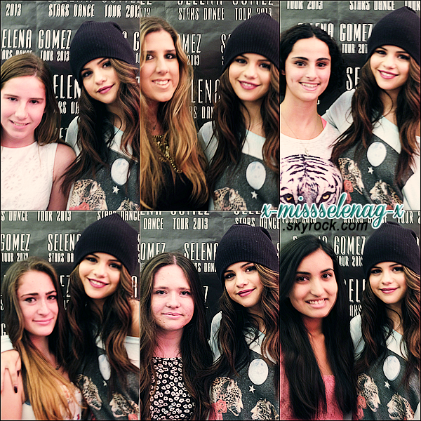 + September 8th  ;   Selena donnant son concert du SDT puis avec les fans à Londres. +