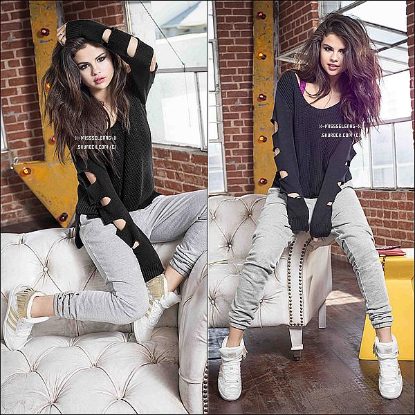 """+ September 19th  ;   Selena a été vue sortant d'un restaurant à Milan avec sa cousine et amie. + Découvre le nouveau promoshoot & pub officiels de la marque """"Adidas NEO"""" pour la collection d'Automne/Hiver 2013. +"""