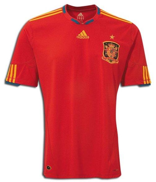 nouveau  maillot  espagnol