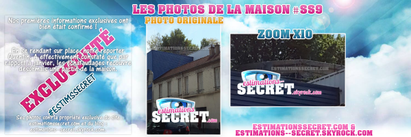 PHOTOS EXCLUSIVES ! La maison est bien en travaux !