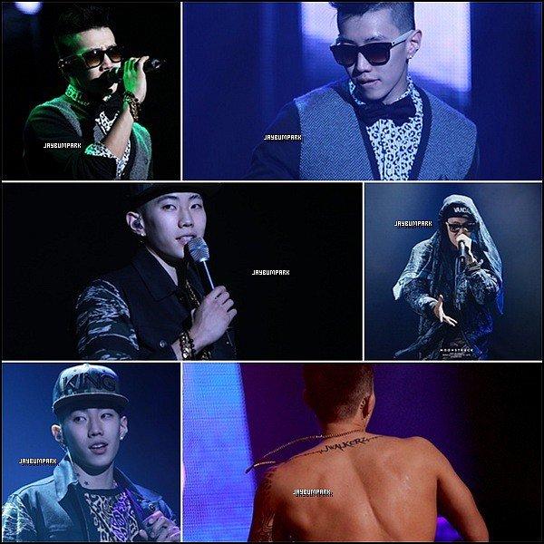 .   09/ 11/ 13 - Jay Park était présent à l'ouverture du Korean Tour à Ulsan. Aimez-vous les tenues que Jay a porté lors de son concert ? Moi oui, je met un top. .