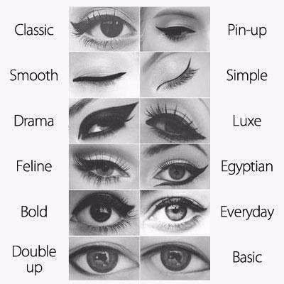 Eyeliner.....