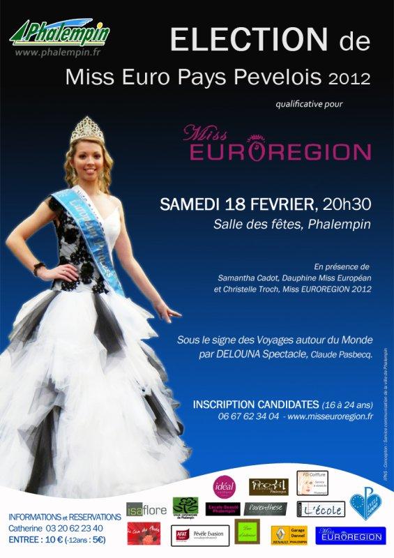 Miss Pays Pevelois le 18 Février à Phalempin