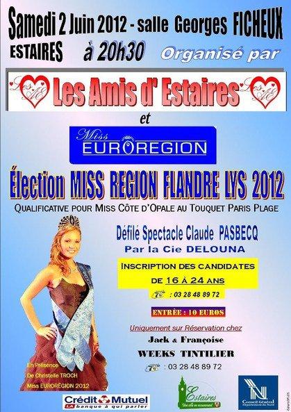Miss  Pays Flandre Lys à Estaire