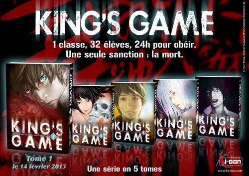 """Présentation de..."""" King's Games """""""