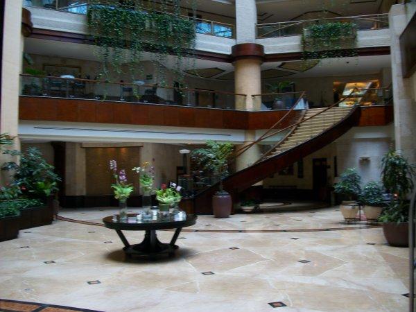 Arrivé à l'Hotel a Guatemala City Mardi à 12h30