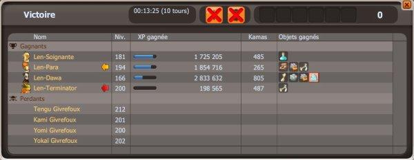 Donjon Tengu réussie ! <3