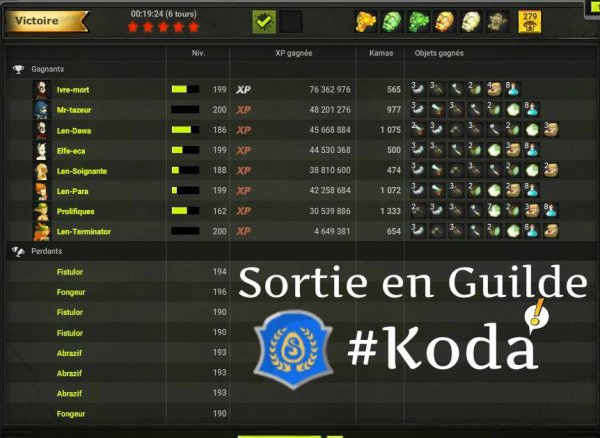Sortie en Guilde KODA ! <3