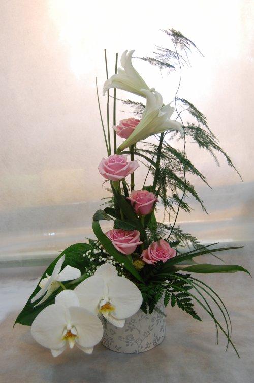 Compo mariage mon blog d 39 art floral - Compo florale mariage ...