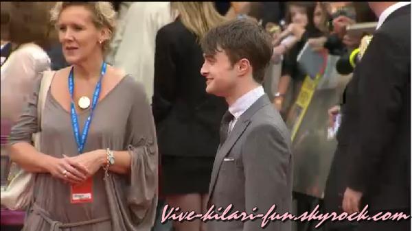 L'avant Première d'Harry Potter