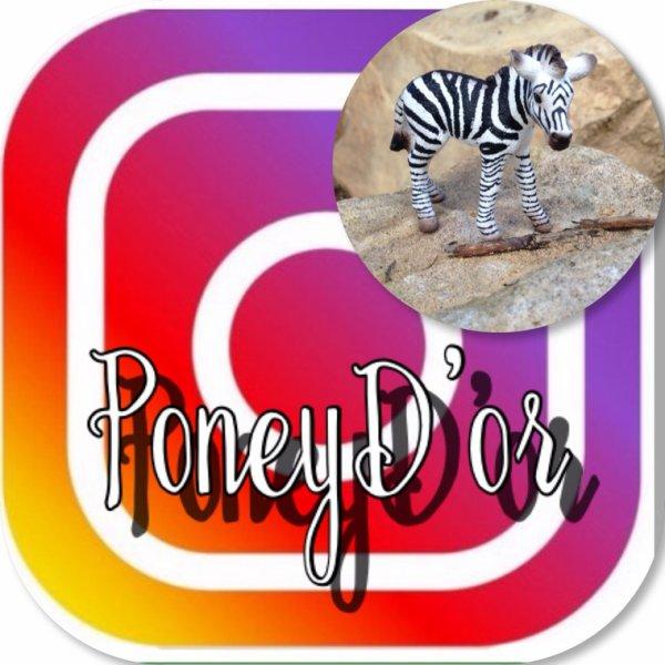 Retrouvez moi aussi sur Instagram