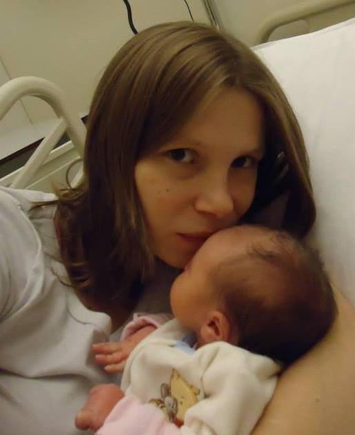 voici Ayiana née le 26 novembre 2013 a 6h28