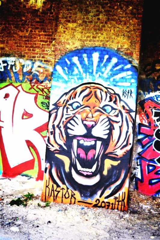 De l'art urbain à Dolhain.(Remix)