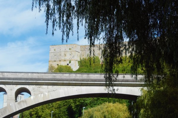 Chateau fort de Huy.
