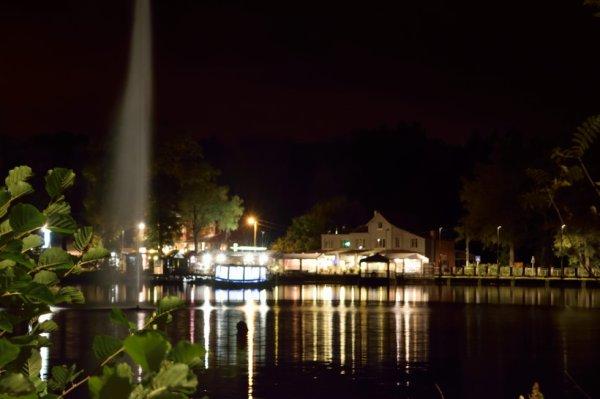 Photo de nuit. (Lac de Warfa)