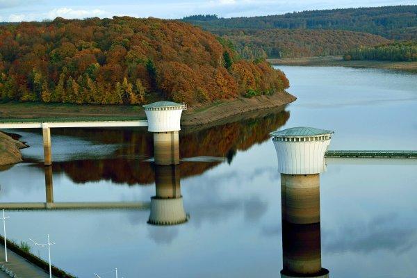 Barrage de la Gileppe.(province de Liège)