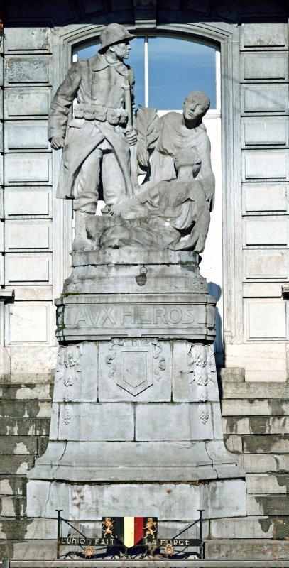 Monuments militaires de Pepinster.