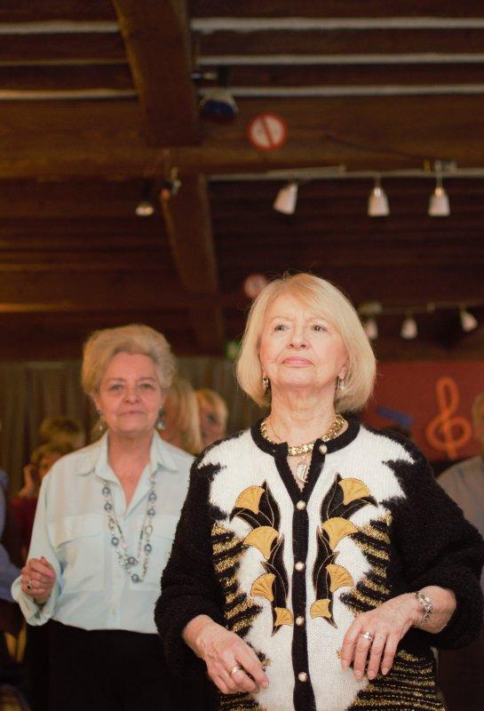 Thé dansant hier à Banneux. (Hotel Becco)