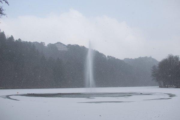 Le froid de se matin à Spa.