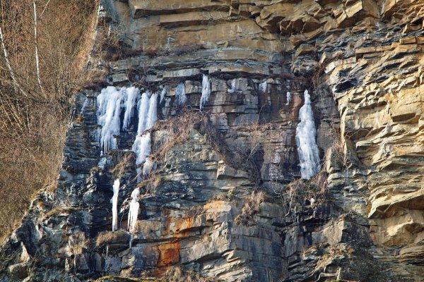 Ca gele encore à Aywaille.