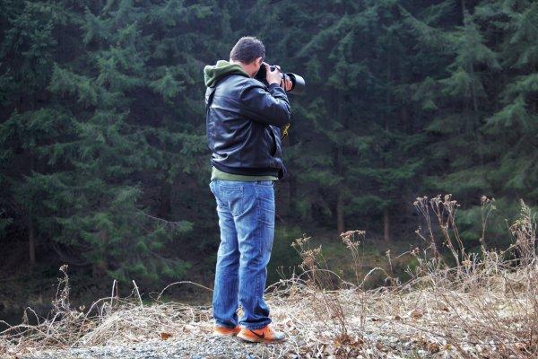 Ces moi qui prend une photo avec mon Nikon d500.