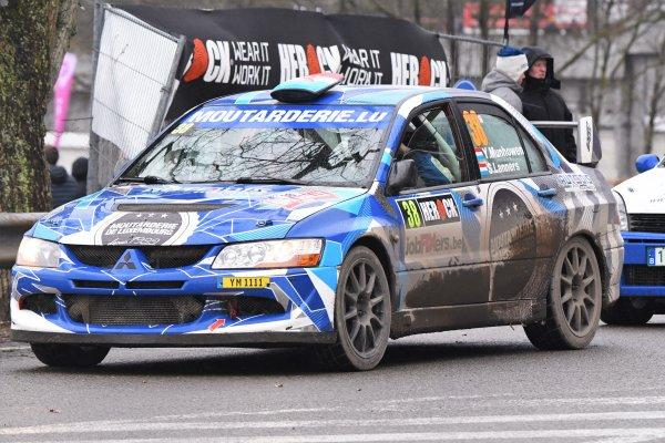 Rallye de Spa.