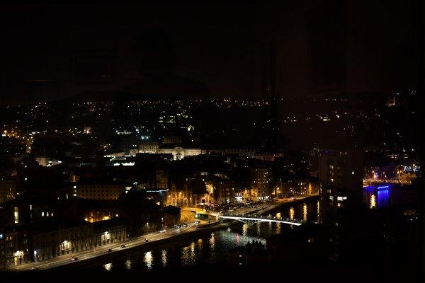 Liège de nuit.