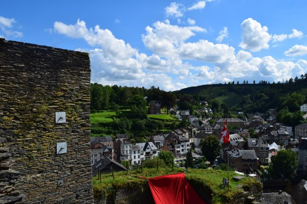 Paysage de La-roche-en-Ardenne.