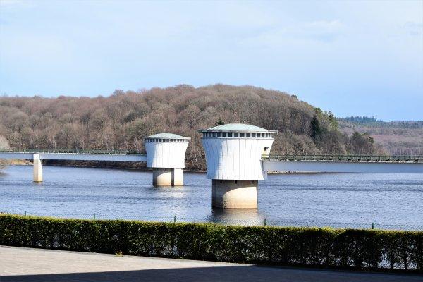 Barrage de la Gileppe. (province de Liège)