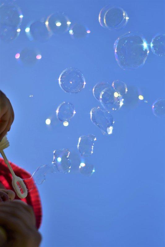 Les bulles de ma fille...