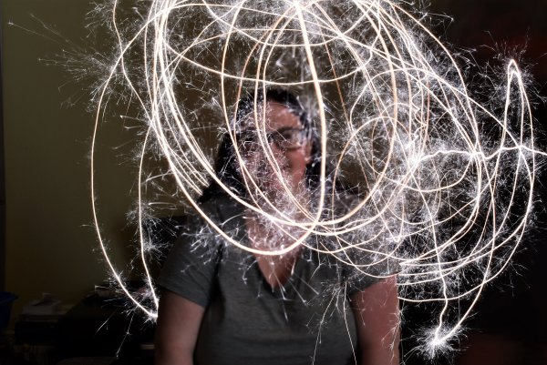 Essais de Light painting.