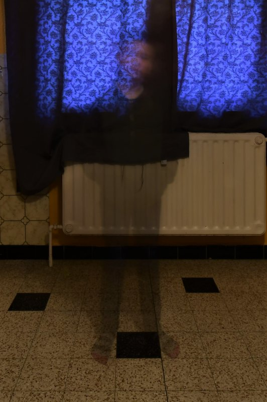 Un fantôme dans ma cuisine.