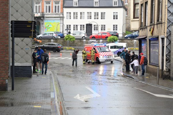 Suite des violents orages à Spa. (Belgique)