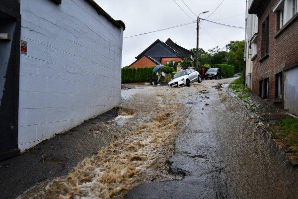 Inondations à Spa. (Belgique)