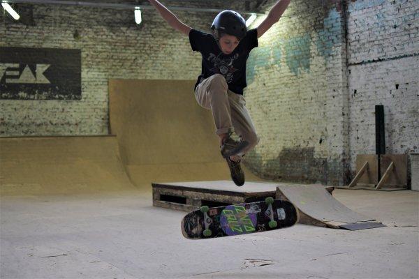 Skatepark Liège.