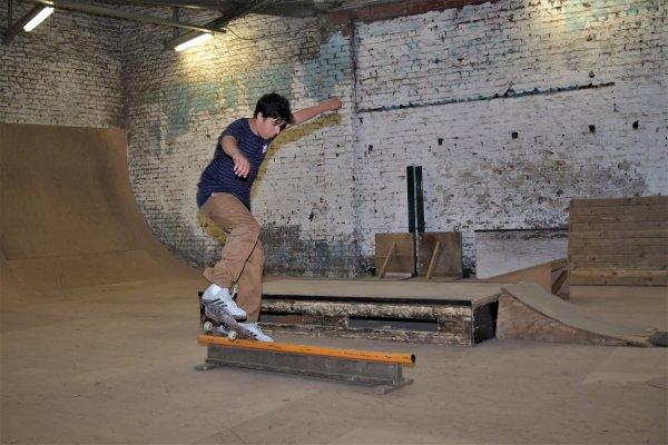 Skatepark de Liège. (Skate)
