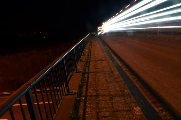 Photo de nuit. (light painting)