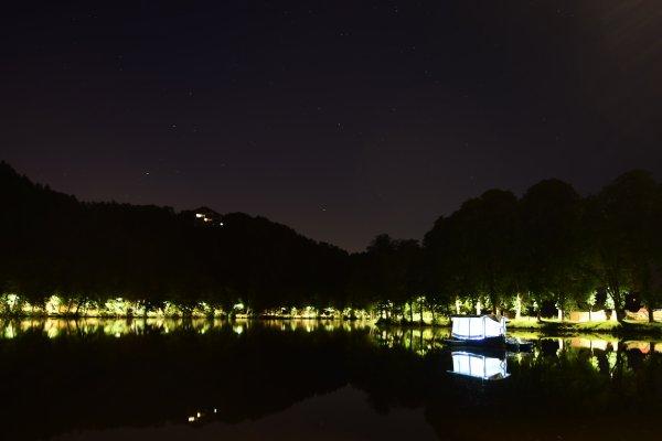 Balade nocturne autour du lac de Spa, suite.