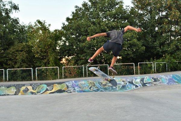 Quelques photos que j'ai prise au skatepark de Cointe.