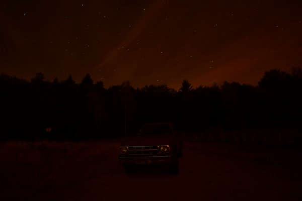Light painting sur une voiture. (11-08-18)