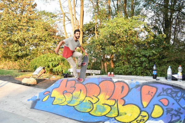 Skatepark de Cointe. (Liège)