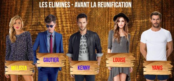Candidats - Saison 1